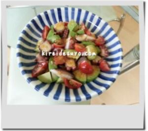 アボカドとタコのサラダ 簡単レシピ