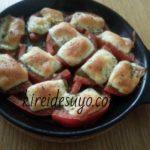 トースターで簡単レシピ!トマトのチーズ焼き